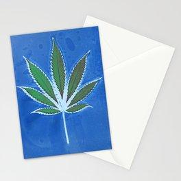 Hemp Lumen #8 Leaf Marijuana/Cannabis/Weed Stationery Cards