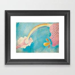 Inspire Me. Framed Art Print