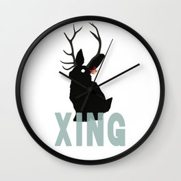 Xmas Jack Wall Clock