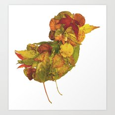 Little Bird of Fall Art Print