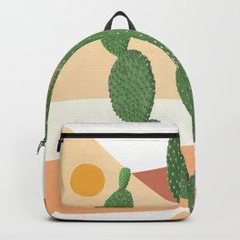 Abstract Cactus II Backpack