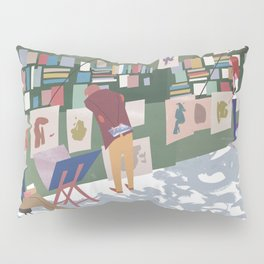 Bouquinisters Pillow Sham