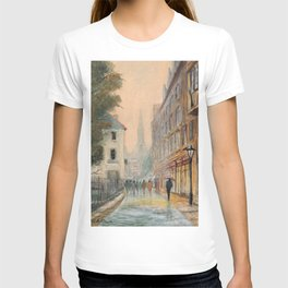 Rainy Day In Oxford England T-shirt