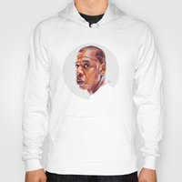 jay z Hoodies featuring JAY-Z by nachodraws