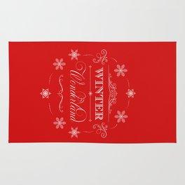 Winter Wonderland Christmas Rug