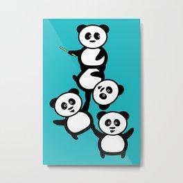 Cirque du panda Metal Print