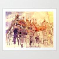 takmaj Art Prints featuring Venezia by takmaj