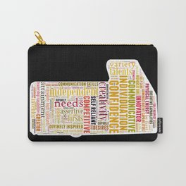 Life Path 1 (black background) Carry-All Pouch
