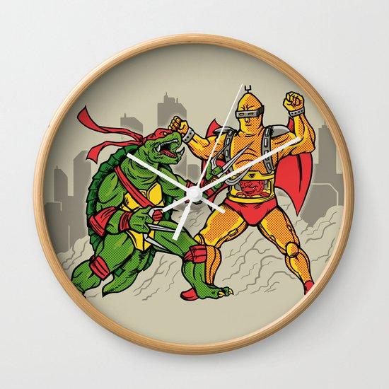 Teenage Mutant Gamera Ninja Wall Clock