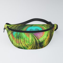 Peacock or Flower 3 Fanny Pack