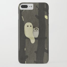 Little Ghost & Owl iPhone Case