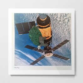 Turtle #5 (Satellite of Love) [Cecilia Lee] Metal Print