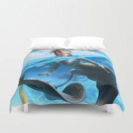 Ray Mermaid Duvet Cover
