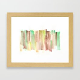 [161228] 22. Abstract Watercolour Color Study |Watercolor Brush Stroke Framed Art Print