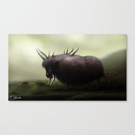 Behemoth Canvas Print