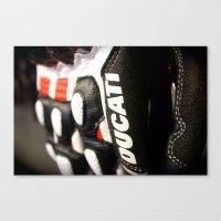 ducati Canvas Prints featuring Ducati Digits by Desmo Vita