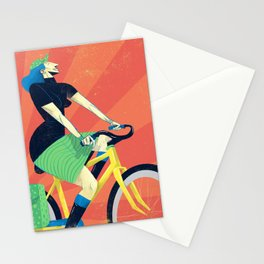 Summer Riding Stationery Cards