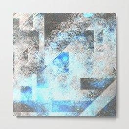 Blue Topaz NebulÆ Metal Print