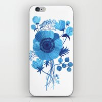 oana befort iPhone & iPod Skins featuring BLUES by Oana Befort