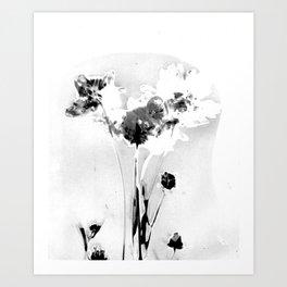 Floral Traces Art Print