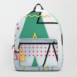 Abstract Christmas Backpack