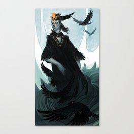 Lady Murder Canvas Print