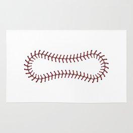 Baseball Lace Background Rug