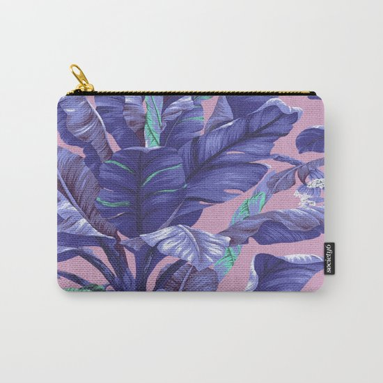 Banana Leaf love Carry-All Pouch