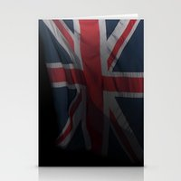 union jack Stationery Cards featuring union jack by allan