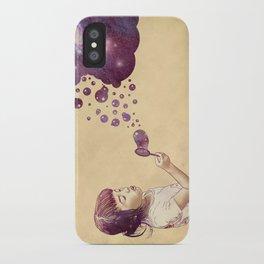 Cosmic Bubbles iPhone Case