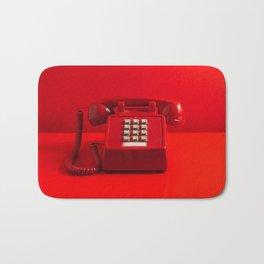 Red Phone Bath Mat