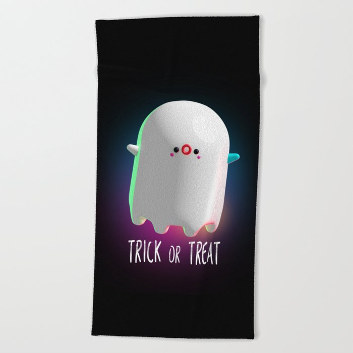 Spooky Ghost Beach Towel
