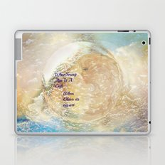 Youth Is A Gift Older Age Is An Art Laptop & iPad Skin