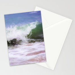Ocean Waves Abstract Stationery Cards