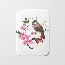 Japanese Sparrow Bath Mat