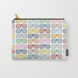 Rainbow Shutter Shades Carry-All Pouch