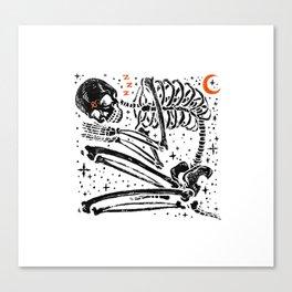 I'll Sleep When I'm Dead Canvas Print
