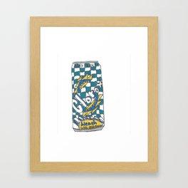 Clorox tea Framed Art Print