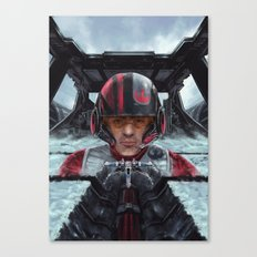 SW Hero pilot: Poe Canvas Print