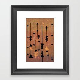 Decker Canyon Framed Art Print