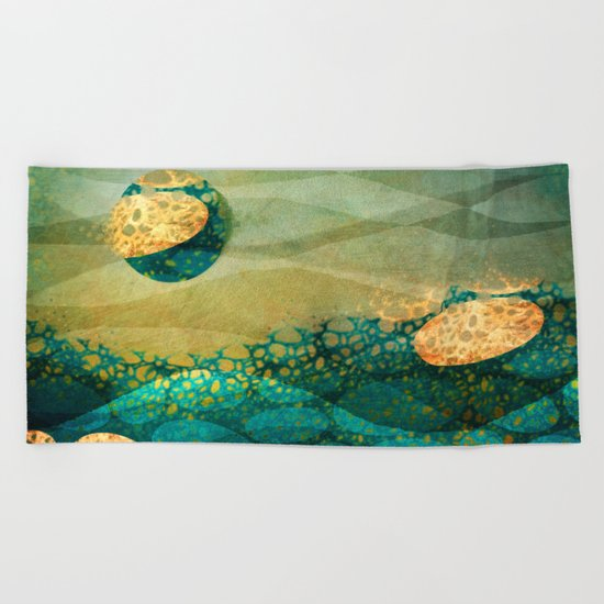 Take me to Another World... Beach Towel