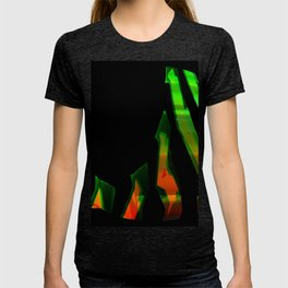 Abstract aesthetic neon T-shirt