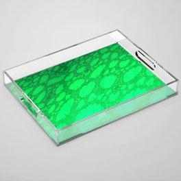 Fractal Abstract 71 Acrylic Tray