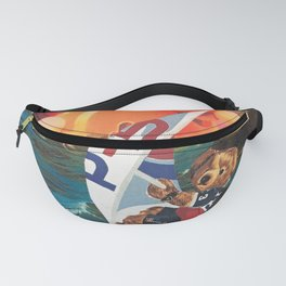 ENJOY TODAY! (Surf the Chaos...) Fanny Pack
