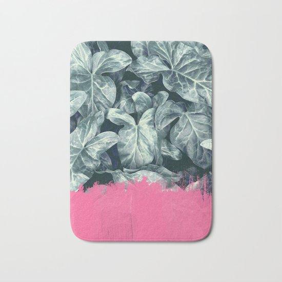 Pink Sorbet on Jungle Bath Mat