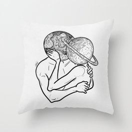 Planets love 2. Throw Pillow