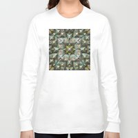 bands Long Sleeve T-shirts featuring Structural Bands of Color   by Phil Perkins