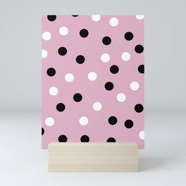 Highlight spot pink print Mini Art Print