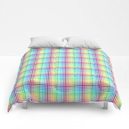 rainbow chess Comforters