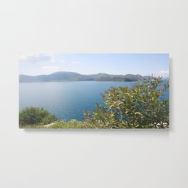 Oleander Againt The Aegean near Selimiye Metal Print